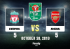 Carabao Cup Liverpool-Arsenal RV