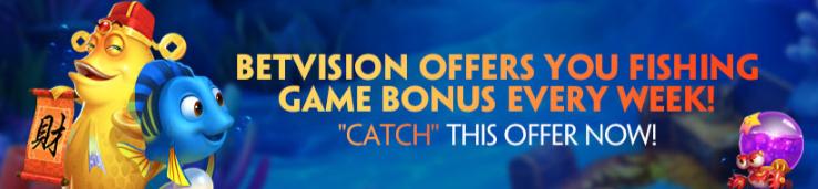 fishing game bonus
