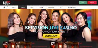 live casino header