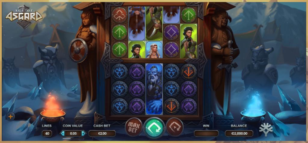 asgard slots