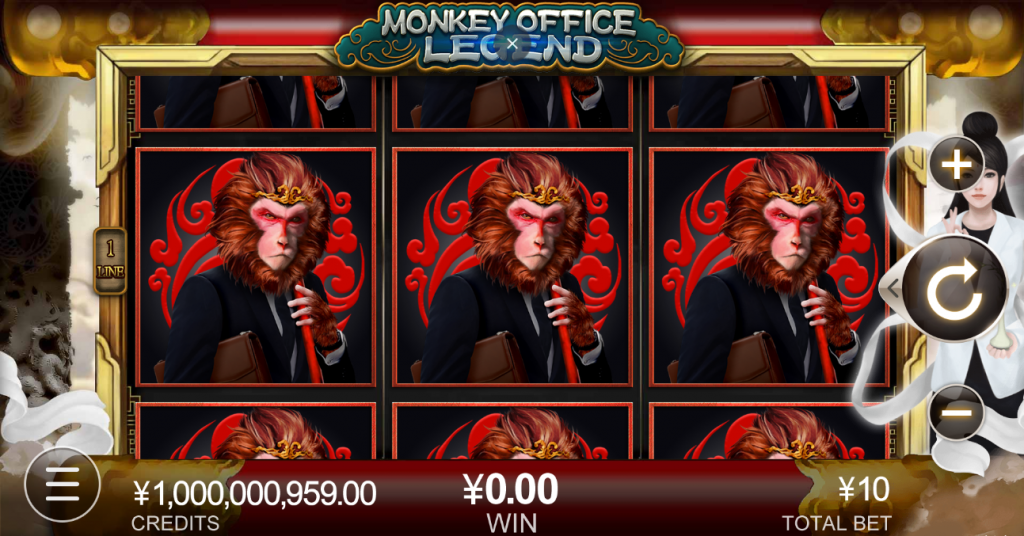 monkey office legend slots