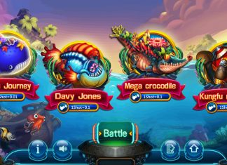Paradise 2 - Selection Screen