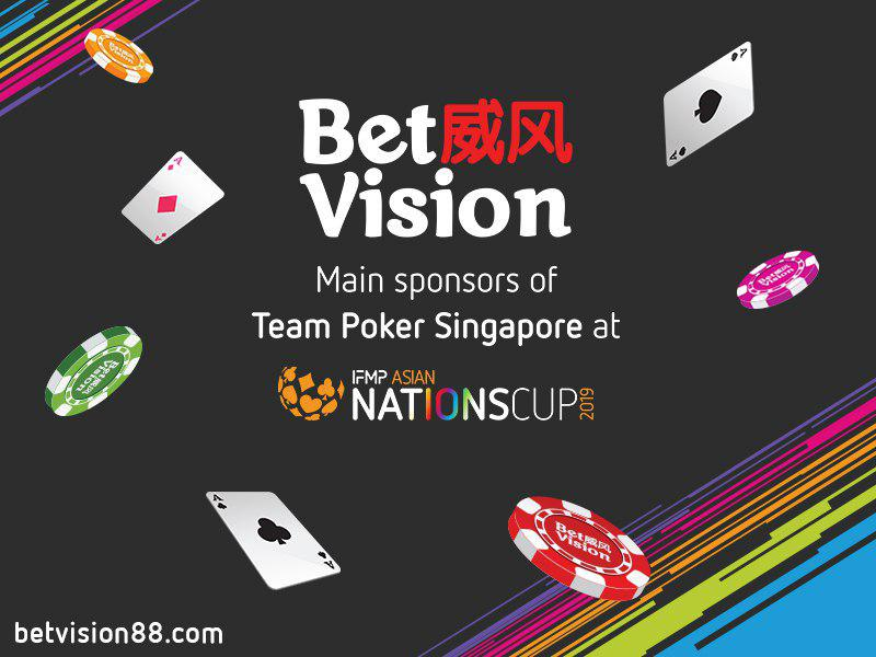 betvision the main sponsors of team singapore at the upcoming ifmp asia nations cup #1 Sports betting, Live Casino, Slots & Fishing Website in Asia