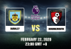 Burnley vs Bournemouth Prediction 220220