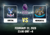 Crystal vs Newcastle Prediction 220220
