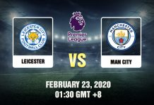Leicester vs Man City Prediction - 230220
