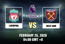 Liverpool vs West Ham Prediction - 250220