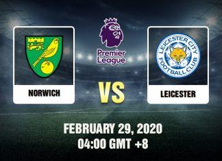 Norwich vs Leicester Prediction 29-02-20