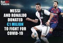 Messi and Ronaldo Donated
