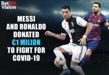 Messi and Ronaldo Donated