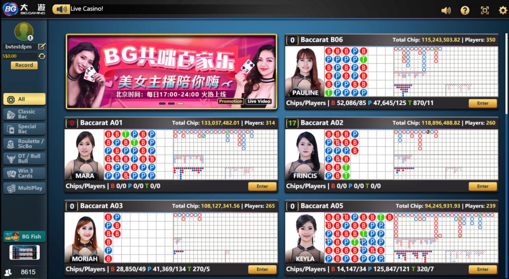 Big Gaming Homepage