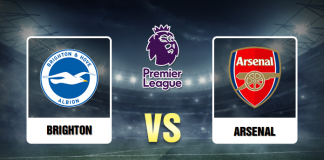 Brighton vs Arsenal Prediction - 140320