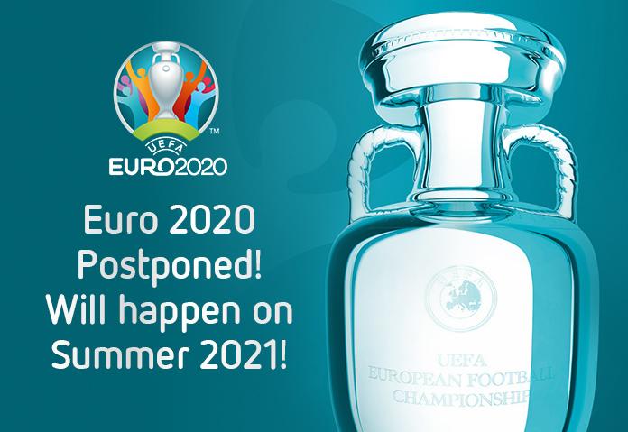 EURO 2020 Postponed! Will happen on Summer 2021! – Football News