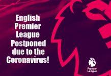 English Premier League Coronavirus