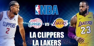 LA Clippers vs LA Lakers Highlights