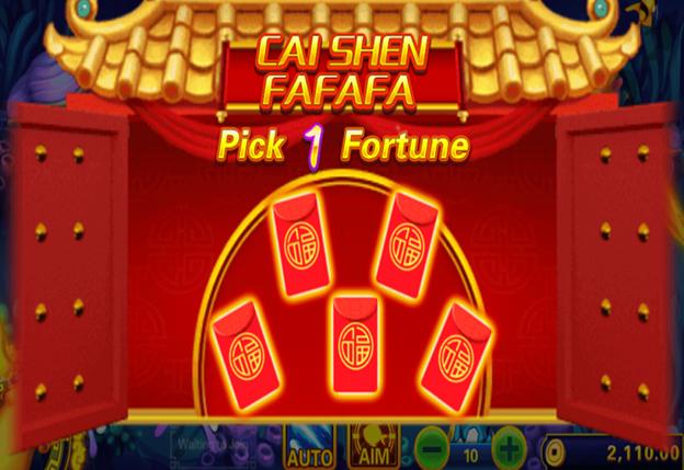 Cai Shen Fortune - Fishing Game Casino