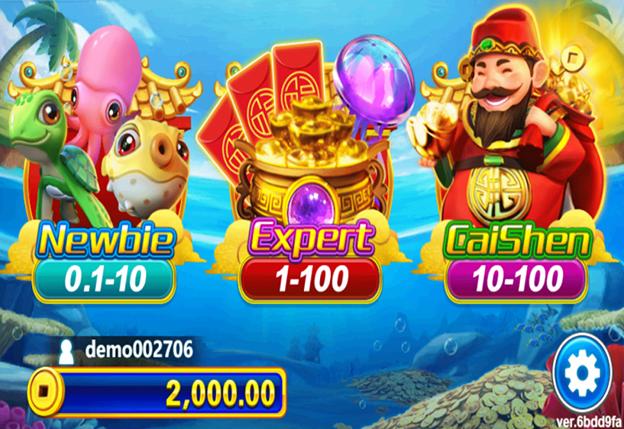 Cai Shen Selection - Fishing Game Casino