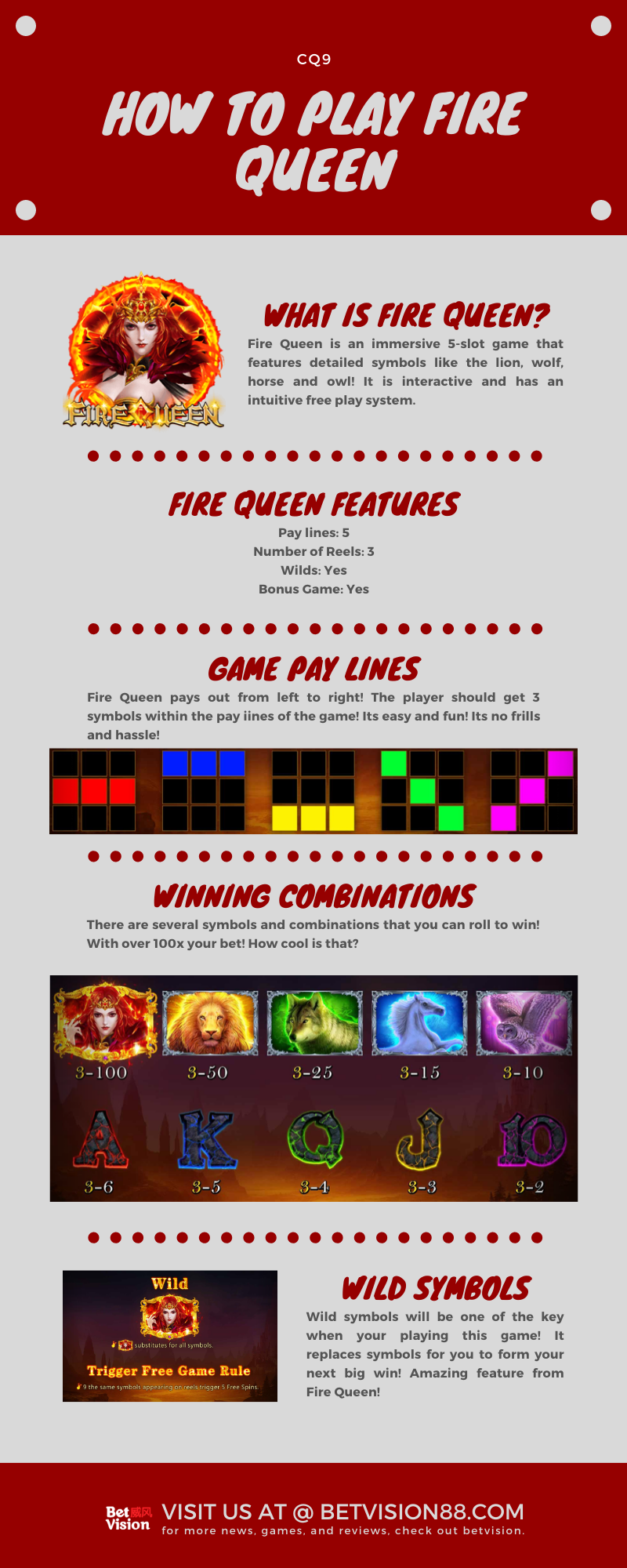 Fire Queen by CQ9 - Slot Game Online Asia 2