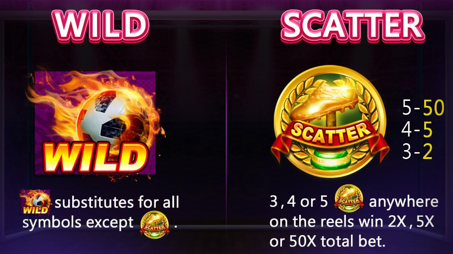 Wild and Scatter - Football Baby by CQ9 Slot Game