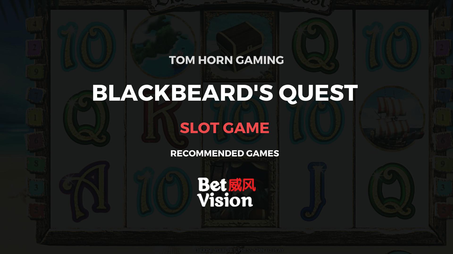 Spiele BlackbeardS Quest - Video Slots Online