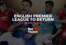 English Premier League Return June 17