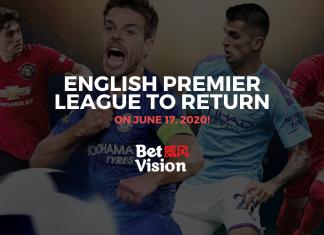 English Premier League Return June 17