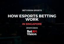 How esports betting work SIngapore