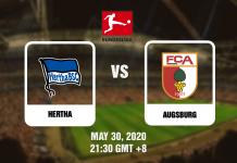 Hertha vs Augsburg - Bundesliga - 053020