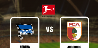Hertha vs Augsburg - Bundesliga - 053020