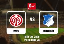 Mainz vs Hoffenheim Bundesliga - 05302020