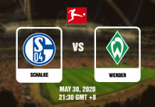 Schalke vs Werder - Bundesliga - 05302020