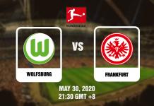 Wolfsburg vs Frankfurt - Bundesliga - 05302020