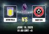 Astin Villa vs Sheff Utd Prediction - 61820 - EPL