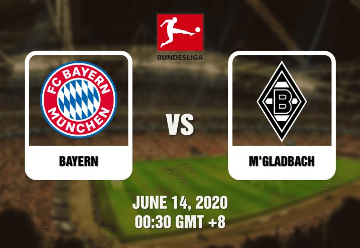 Bayern vs Monchengladbach Prediction Bundesliga - 61420