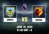 Burnley vs Watford Prediction - 62620 - EPL