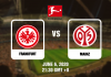 Frankfurt vs Mainz - Bundesliga - 06062020