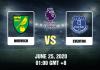 Norwich vs Everton - 62520 - EPL