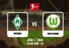 Werder vs Wolfsburg - Bundesliga - 06072020