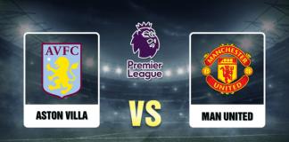 Aston Villa v Man United Prediction - 10720 - EPL