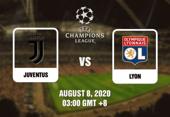 Juventus v Lyon Prediction Champions League - 080820