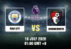 Man City v Bournemouth Prediction - 16720 - EPL