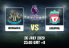 Newcastle v Liverpool Prediction - 260720 - EPL