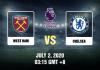 West Ham vs Chelsea Prediction - 7220 - EPL