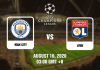 Man City v Lyon Prediction - Champions League - 16820