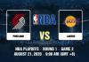 Portland Trail Blazers v LA Lakers Prediction - 8212020 - 2