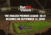 The English Premier League 2020-2021 Season Start!