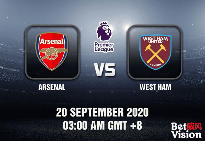 Arsenal v West Ham Match Prediction - EPL - 200920