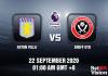 Aston Villa v Sheff Utd Match Prediction - EPL - 220920