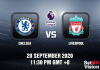 Chelsea v Liverpool Match Prediction - EPL - 200920