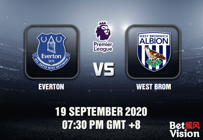 Everton v West Brom Match Prediction - EPL - 19920